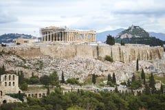 Atene, Akropolis, Plaka Fotografie Stock