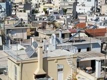 Atene, alloggio ad alta densità Immagini Stock Libere da Diritti
