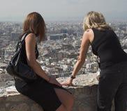 Atene dall'acropoli Fotografie Stock Libere da Diritti