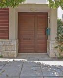 Atene Grecia, entrata della casa Fotografia Stock Libera da Diritti