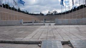 ATENE, GRECIA - 20 GENNAIO 2017: Stadio panatenaico o kallimarmaro a Atene Immagine Stock