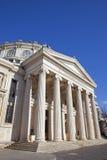 Ateneo rumano imagenes de archivo