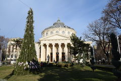 Ateneu romeno Imagem de Stock Royalty Free