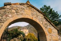 Ateni, Region Shida Kartli, Georgia Bogen-Eingangs-Tore zu Geor Stockbild