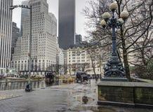 Πόλη Μανχάταν της Νέας Υόρκης Στοκ φωτογραφία με δικαίωμα ελεύθερης χρήσης
