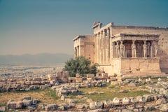 Ateny akropol Zdjęcie Royalty Free