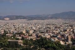 Ateny - betonowy las obraz royalty free
