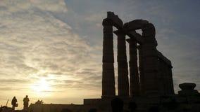 Ateny, Grecja, Grudzień 15, 2014: Zabytki zdjęcie royalty free
