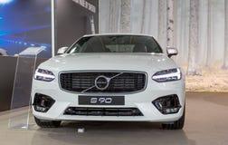 ATENY GRECJA, LISTOPAD, - 14, 2017: Volvo S90 przy Aftokinisi-Fisikon 2017 Motorowym przedstawieniem Obraz Stock