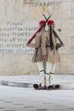 ATENY GRECJA, WRZESIEŃ, - 21: Odmienianie Strażowy ceremon Fotografia Stock