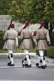 ATENY GRECJA, WRZESIEŃ, - 21: Odmienianie Strażowy ceremon Obrazy Stock
