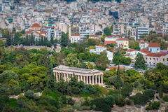 Ateny miasto w Grecja Zdjęcia Royalty Free