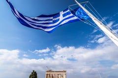 Ateny miasto w Grecja Fotografia Stock