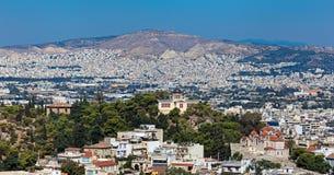 Ateny pejzaż miejski Fotografia Royalty Free