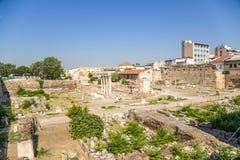 Ateny. Romańska agora Zdjęcie Stock