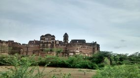 Ater fort. Is located near ater town which is 35 km from bhind in state Madhya Pradesh,India. Fort is situated on the banks of Chambal river Royalty Free Stock Photos