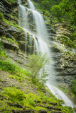 Aterfall en parc national espagnol Ordesa et Monte Perdido, Photos stock