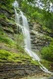 Aterfall en parc national espagnol Ordesa et Monte Perdido, Image libre de droits