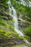 Aterfall in the spanish national park Ordesa and Monte Perdido, Royalty Free Stock Image