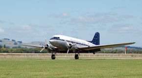 Aterragem DC3 Fotografia de Stock