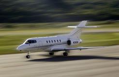 Aterragem de aviões Foto de Stock Royalty Free