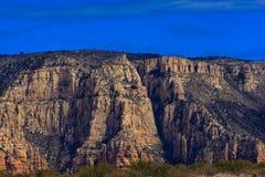 Aterragem do helicóptero da paisagem - Sedona, o Arizona fotos de stock