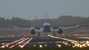 Aterragem do Klm Boeing 777 filme