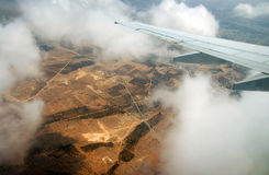 Aterragem em Tunísia Fotos de Stock