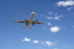 Aterragem plana Foto de Stock