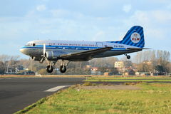 Aterrissagem clássica de Dakota imagens de stock royalty free