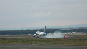 Aterrissagem de avião em Francoforte filme