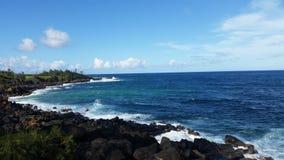 Aterrissagem de Koloa - Kauai, Havaí Fotos de Stock Royalty Free
