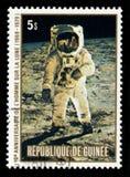 Aterrissagem de lua de Apollo 11 Imagens de Stock