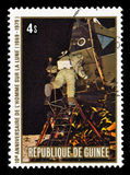 Aterrissagem de lua de Apollo 11 Imagem de Stock
