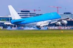 Aterrissagem de Smokey Imagens de Stock