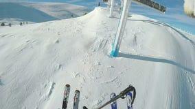 Aterrissagem do elevador de esqui filme