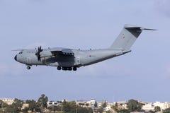 Aterrissagem do urso da produção de Airbus Imagens de Stock Royalty Free