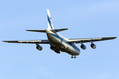 A aterrissagem An-124 enorme Imagens de Stock Royalty Free