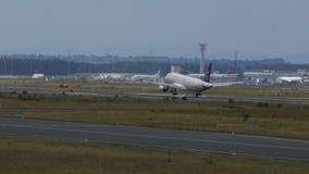 Aterrissagem saudita de Airbus A320 vídeos de arquivo