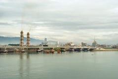 Aterrizaje de Cebú por el mar imágenes de archivo libres de regalías