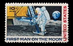 Aterrizaje de luna Fotos de archivo