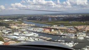 Aterrizaje de Tampa Bay foto de archivo