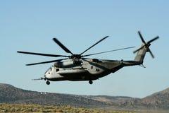 Aterrizaje del helicóptero Fotografía de archivo libre de regalías
