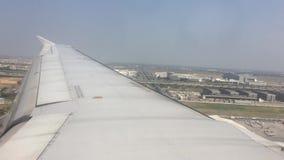 Aterrizaje en el aeropuerto internacional de Bangkok Suvarnabhumi