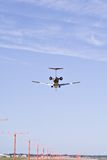 Aterrizaje en Hopkins imagen de archivo
