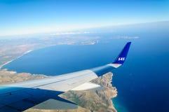 Aterrizaje Mallorca Foto de archivo libre de regalías