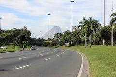 Aterro fa il parco di Flamengo in Rio de Janeiro Fotografie Stock