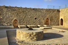 Ateshgah di Bacu (tempio del fuoco in Suraxanı) l'azerbaijan immagini stock