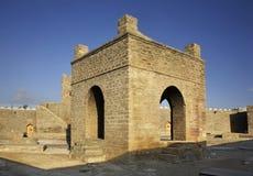 Ateshgah van Baku (Brandtempel in Suraxanı) azerbaijan Stock Foto