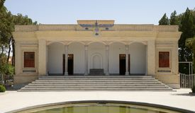 Ateshkadeh - Fire-temple in Yazd, Iran Royalty Free Stock Photography